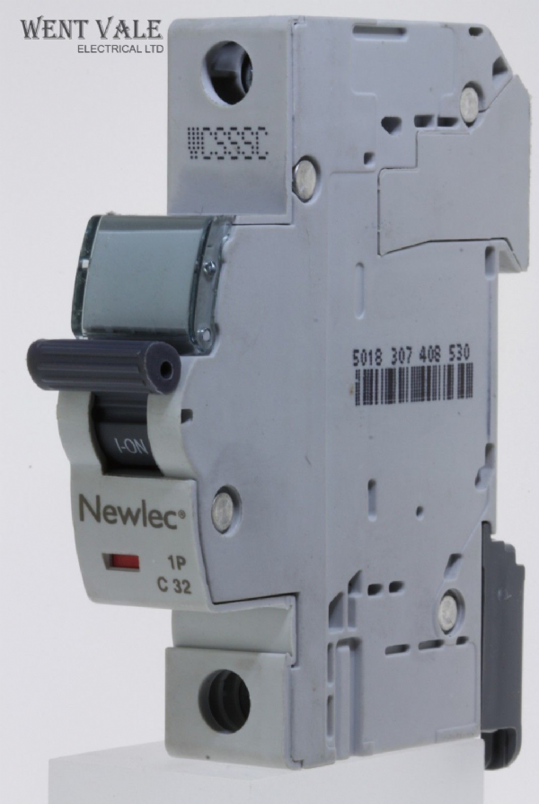 Newlec - NLMB132CA - 32a Type C Single Pole MCB Latest Model NEW